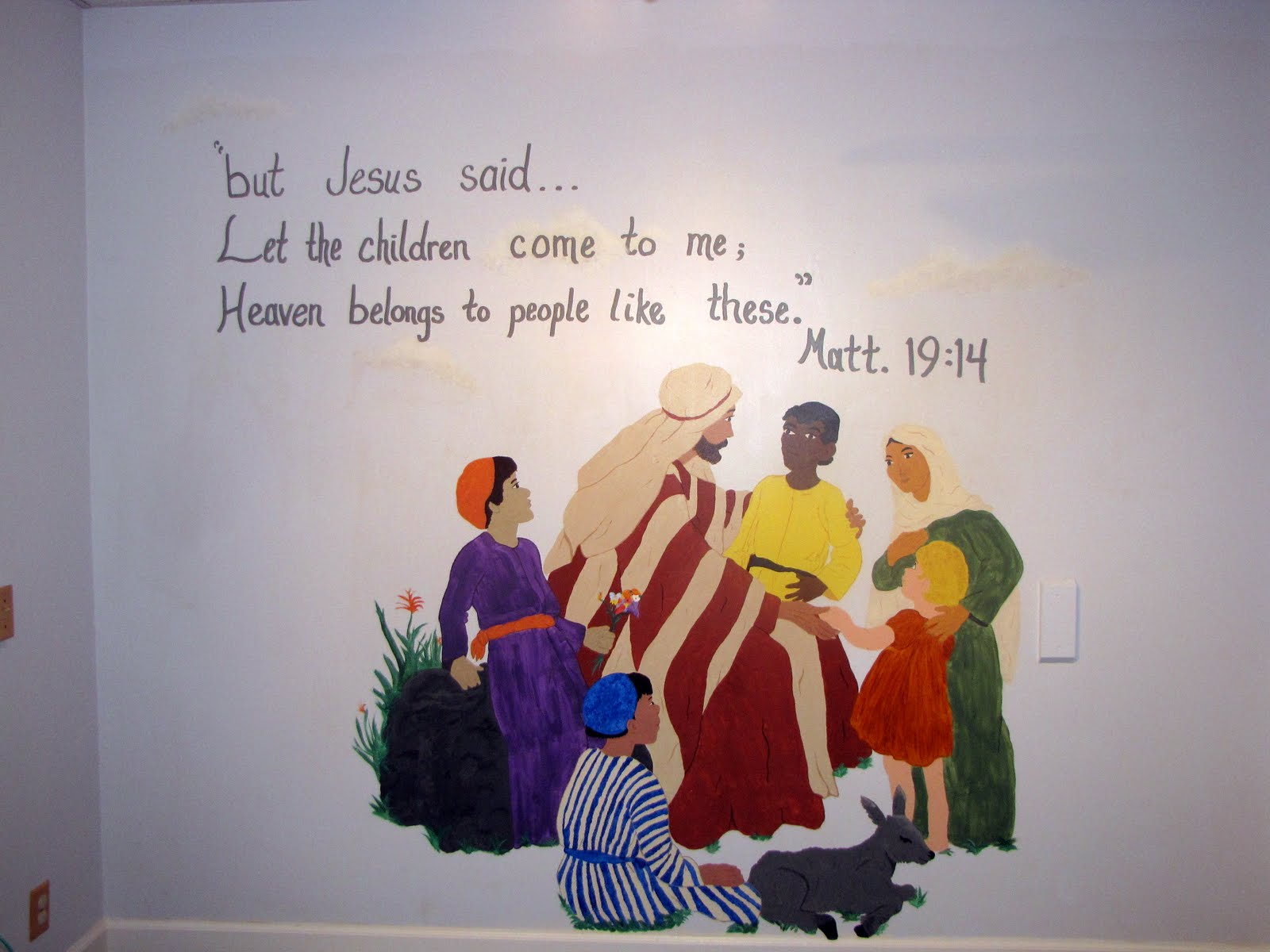 28 church wall murals custom painted church murals by dee church wall murals church nursery wall murals submited images